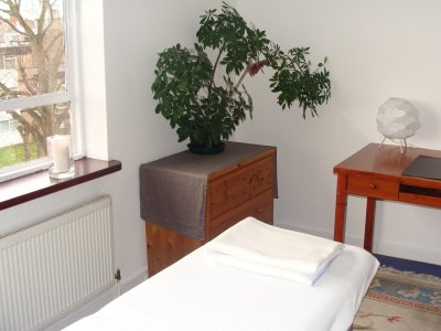 Craniosacral Therapy with Martha Egger, clinic space East Finchley